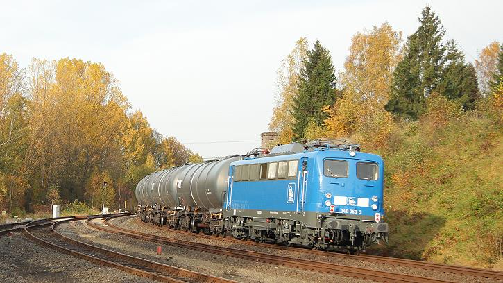 Eine 140 in Oberkotzau - VT 66 in Bad Steben - Foto: Jan Bulin, Bad Steben